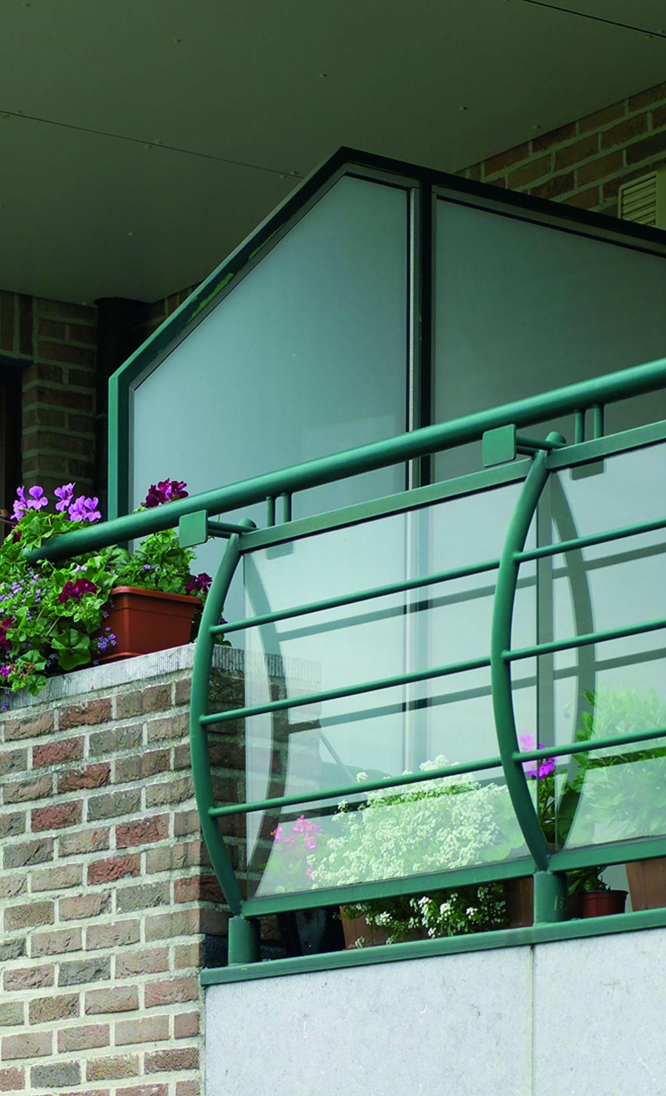 kunststof windscherm